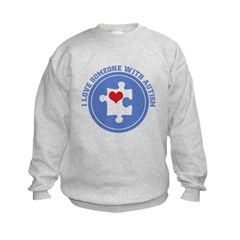 Someone With Autism Sweatshirt