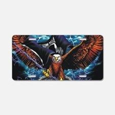 POW MIA Eagle Aluminum License Plate