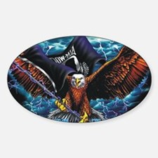 POW MIA Eagle Decal