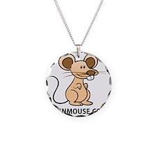 Plush Bunny Keen Mouse Masco Necklace