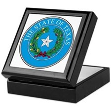 Texas State Seal Keepsake Box