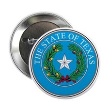 "Texas State Seal 2.25"" Button"