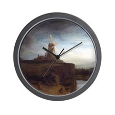 Rembrandt van Rijn The Mill Wall Clock