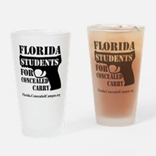 FLSCC Logo Drinking Glass