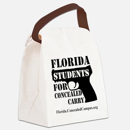 FLSCC Logo Canvas Lunch Bag