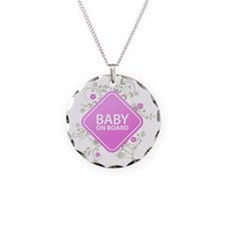 Baby on Board - Girl Necklace