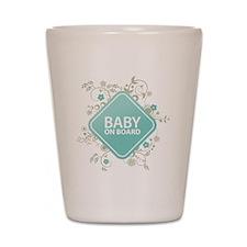 Baby on Board - Boy Shot Glass
