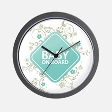 Baby on Board - Boy Wall Clock