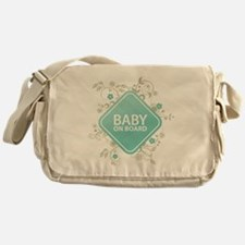 Baby on Board - Boy Messenger Bag