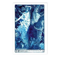 So haunted at moonlight w Postcards (Package of 8)