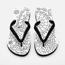 Doodle #25 Flip Flops