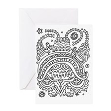 Doodle #36 Greeting Card
