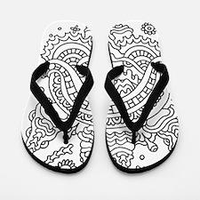 Doodle #36 Flip Flops