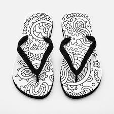 Doodle #37 Flip Flops