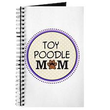 Toy Poodle Dog Mom Journal