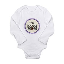 Toy Poodle Dog Mom Body Suit