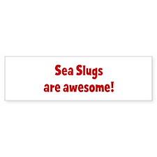 Sea Slugs are awesome Bumper Bumper Sticker