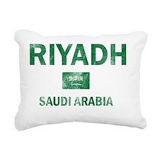 Riyadh Saudi Arabia Desi Rectangular Canvas Pillow