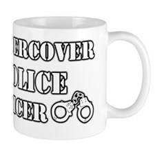 Uncercover Police Officer Mug