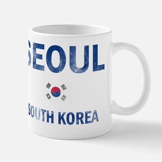 Seoul South Korea Designs Mug