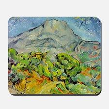 Paul Cezanne Mont Sainte-Victoire Mousepad