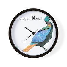 Himalayan Monal Wall Clock