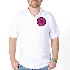 raspberry pink bike T-Shirt