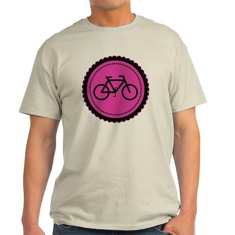 raspberry pink bike Light T-Shirt