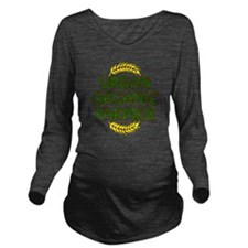 Urban Organic Farmer Long Sleeve Maternity T-Shirt