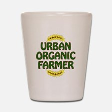 Urban Organic Farmer  Shot Glass