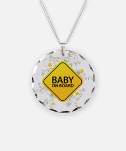 Baby on Board - Baby Necklace