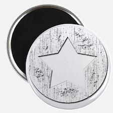 Distressed Vintage Star 2 Magnet
