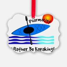 pharmacist kayaker Ornament
