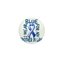 I Wear Blue for my Brother in Law Mini Button