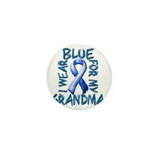 I Wear Blue for my Grandma Mini Button