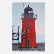South Haven Lighthouse Postcards (Package of 8)