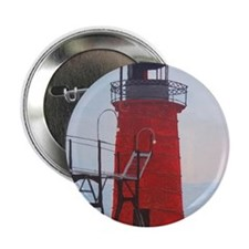 "South Haven Lighthouse 2.25"" Button"
