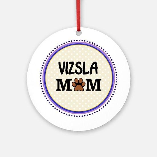 Vizsla Dog Mom Ornament (Round)
