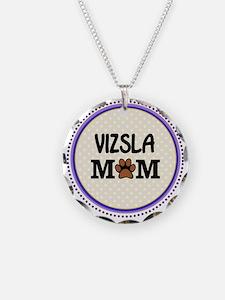 Vizsla Dog Mom Necklace