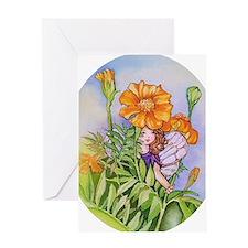 Marigold Fairy Greeting Card