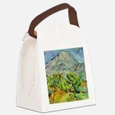 Mont Sainte-Victoire Canvas Lunch Bag