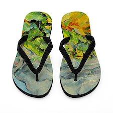 Mont Sainte-Victoire Flip Flops