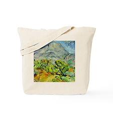 Mont Sainte-Victoire Tote Bag