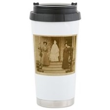 Vintage Halloween Photograph Wi Travel Mug