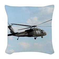 Tote10x10_Blackhawk_4 Woven Throw Pillow