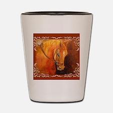 Hanoverian Stallion Shot Glass
