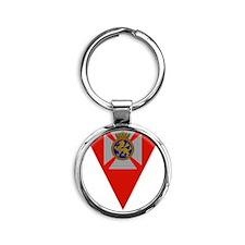 Brandywine Badge Round Keychain