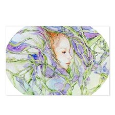 In Spring Irises Postcards (Package of 8)