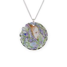 In Spring Irises Necklace