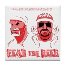 Fear the Beer Tile Coaster